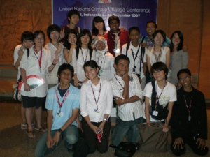 Asian Youth Caucus, UN Climate Change Talks, Bali, Indonesia