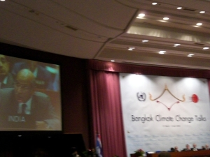 India at the Bangkok Climate Change Talks 2008