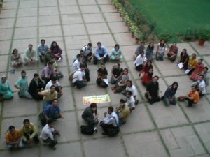350 at Delhi Youth Summit on Climate
