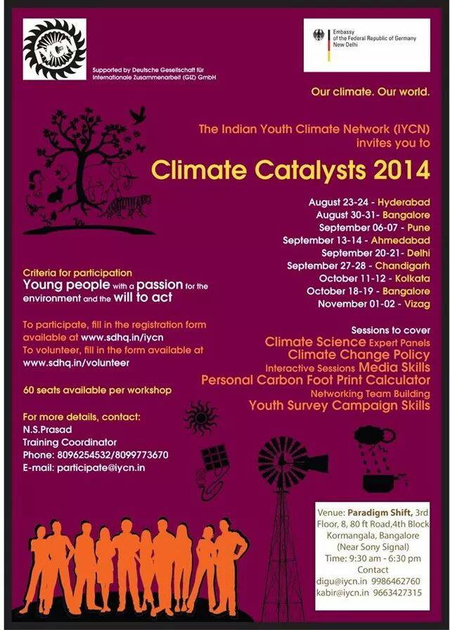 Climate Catalysts 2014