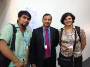 Indian Youth Delegation with Indian Negotiator