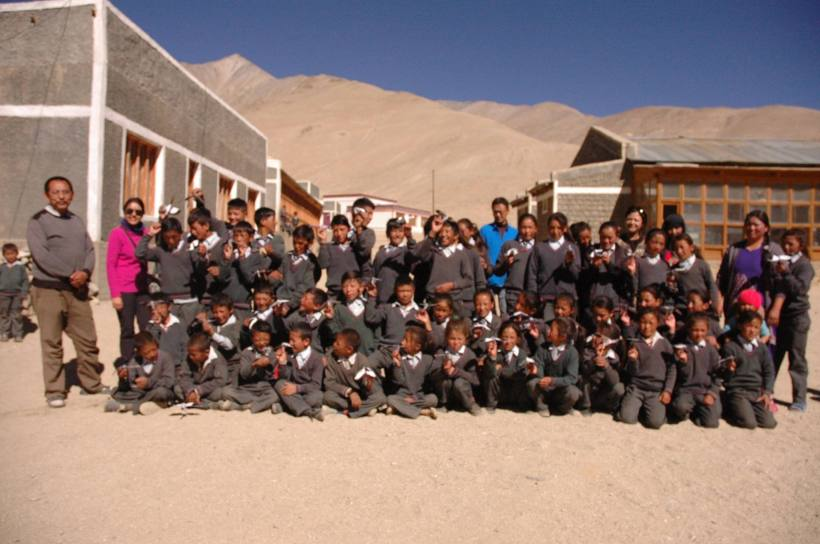 Birds of Ladakh , workshop , Satho Govt school , Ladakh